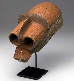 Africa | Mask from the Mumuye people of Nigeria | Wood | ca. early 20th century