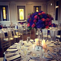 So much color at todays wedding!  @mcwright77 @blueplatechicago @exqdesigns @toastandjamdjs @matthaasphotography @lisawandel #loveislivenitup