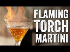Let's Make: Flaming Torch Martinis - Margaritaville Blog
