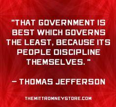 Support smaller government #conservative #politics #nobama    www.themittromneystore.com