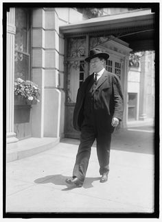 """William Dudley Haywood (February 4, 1869 – May 18, 1928), better known as """"Big Bill"""" Haywood, was a founding member and leader of the Industrial Workers of the World (IWW), and a member of the Executive Committee of the Socialist Party of America."""
