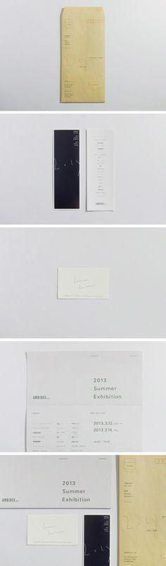 ≪アンビデックス社、夏の展示会のための招待状≫ Summer Exhibition Invitation | AMBIDEX Co., Ltd. 2013年 / 33.2 cm × 24.0cm / Mixed Media / Edition 1600 — Publisher: AMBIDEX Co., Ltd. Management: Tomoko Komiya Agency: NSSGRAPHICA PrintDirection: Mika Yamada (Sanwa Printing Co., Ltd.) Photograph: Ryoko Shimasaki Gestaltung: Makoto Kamimura  (c) Makoto Kamimura, AMBIDEX Co., Ltd.