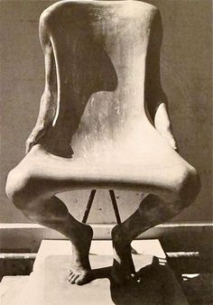 I want this chair in my garden... even though its slightly disturbing. Ruth Francken. L' Homme. 1971.