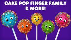 Cake Pop Finger Family Collection   Top 10 Finger Family Collection   Finger Family Songs