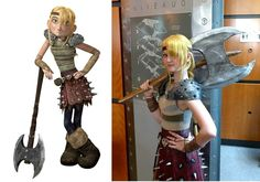 Astrid. How to train your dragon. So cute