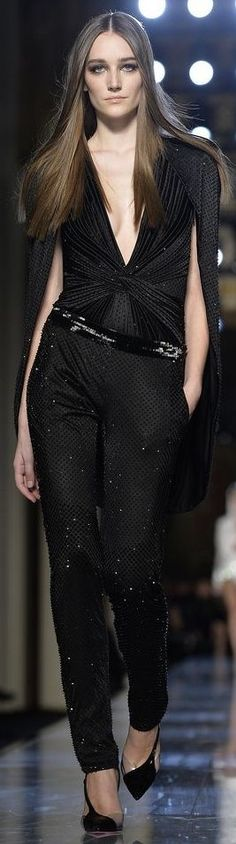 Atelier Versace Couture Spring 2014.
