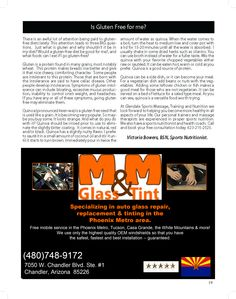 M & M GLASS & TINT   #AZSEASONSMAGAZINE