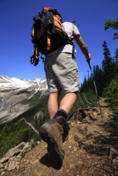 """""""Backpacking: An extended form of hiking in which people carry double the amount of gear they need for half the distance they planned to go in twice the time it should take."""" - This website has great backpacking basics - could have used this when I started!"""