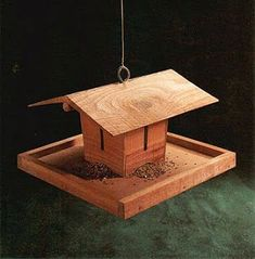bird feeder house plans
