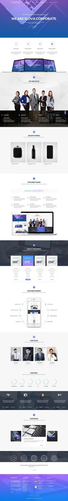 Slow - Business Responsive Wordpress Theme
