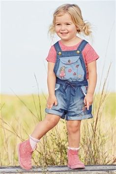 Buy Character Denim Playsuit (3mths-6yrs) from the Next UK online shop