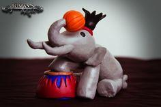 Circus Theme - Roman's polymer clay sculptures