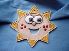 Sluníčko Keramické modelované sluníčko o průměru 15 cm.