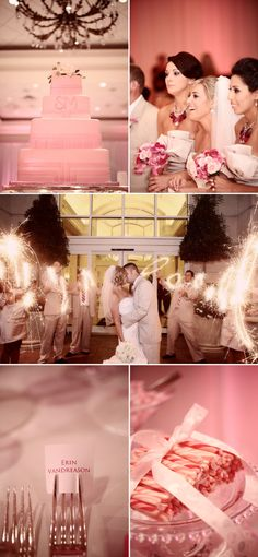 LOVE the sparklers picture in the middle