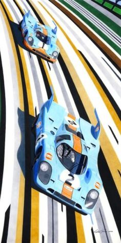 Slovenian Artist Miha Furlan's Love for F1 began with a Video Game
