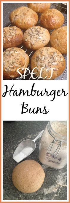 Spelt Hamburger Buns, this easy brioche like hamburger bun recipe turns any burger into a gourmet meal. You'll never use store bought again. They freeze well too. thecookingspoon.org