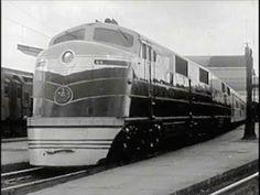 The Passenger Train - 1940 - Historic Baltimore & Ohio Railroad Trains in America