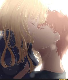 shirou, fatestay, fatestaynight, saber - iFunny :)