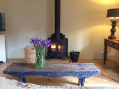 Our guests light the fire all year round, even in summer.