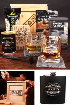 Celebrate Father's Day with the Personalized Whiskey Crate! | ManCrates