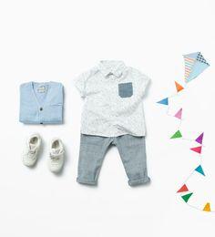 Shop by look - Bebé niño (3 meses - 3 años) - NIÑOS | ZARA México