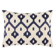 BuyJohn Lewis Fusion Ikat Cushion, Indigo Online at johnlewis.com