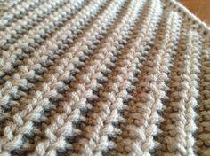 (6) Name: 'Knitting : Diagonal Mistake Rib Scarf