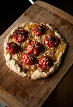 Tomato tart with spelt crust by Food Loves Writing