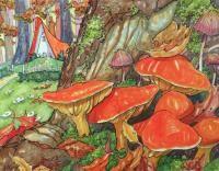 Toadstool Autumn