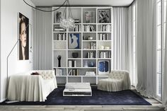 An elegant and minimalist apartment in Barcelona (Desire To Inspire) Luxury Interior, Decor Interior Design, Interior Styling, Interior Architecture, Minimalist Apartment, Minimalist Home Decor, Living Room Inspiration, Interior Inspiration, Interior Ideas