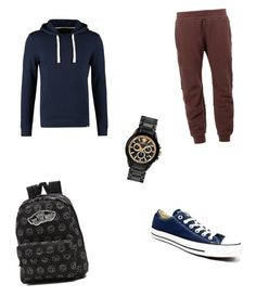"""Untitled #11"" by tijona on Polyvore featuring adidas Originals, Converse, Vans, women's clothing, women's fashion, women, female, woman, misses and juniors"