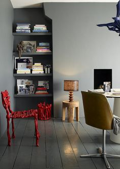 red stick chair - I want to make!