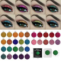 $0.99 - Niceface 45 Color 7.5G Long Lasting Shimmer Eyeshadow Makeup Cosmetics With Box #ebay #Fashion