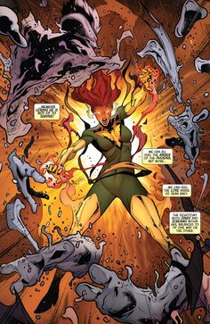 Age of Apocalypse Jean Grey/Phoenix entity Marvel Girls, Marvel Art, Marvel Dc Comics, Marvel Women, Marvel Heroes, Captain Marvel, Comic Book Characters, Marvel Characters, Comic Character