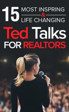 Amazingly, you live in an era where the collected wisdom of some of the smartest, most successful people in your industry are giving away their secrets for free. To help you make the most of your time, below is our curated list of the 15 best talks on real estate and sales strategy, growth mindset, and the psychology of success from the TED stage and beyond.