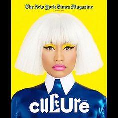 #nickiminaj photography by #ErikMadiganHeck newest cover #NewYorkTimesMagazine. --------------------------------------------Styling #RushkaBergman hair: #OscarJames make-up: #SheikaDaley ------------------------------------------ Editor in Chief Jake Silverstein / Design Director: @GailBichler / Art Director: Matt Willey / Director of Photography: @kathyryan1 Jason Sfetko: Deputy Art Director / Ben Grandgenett: Designer / Associate Photo Editors: Stacey Baker Amy Kellner David La Spina…