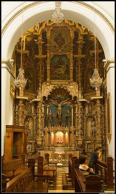 Retablo del Cristo de la Contricción - San Pedro de Lima | Flickr: Intercambio de fotos