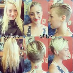 60 Hottest Pixie Haircuts 2020 - Classic to Edgy Pixie Hairstyles for women Long Hair Cut Short, Edgy Short Hair, Short Hair Styles, Asymmetrical Hair, Long Pixie, Short Cuts, Edgy Pixie Hairstyles, Short Pixie Haircuts, Love Hair