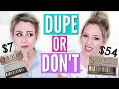 PINTEREST MAKEUP DUPES TESTED | DUPE OR DON'T - YouTube