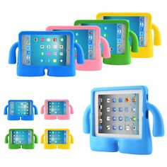Kids Foam Handle Case For Apple iPad 2 3  4 5 6 / Mini 1 2 3 4 / iPad Air 2 3 iPad 2 3 4 5 6 7