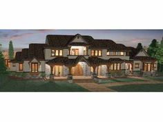 Floor Plans AFLFPW15041 - 2 Story Prairie Home with 6 Bedrooms, 4 Bathrooms and 5,155 total Square Feet