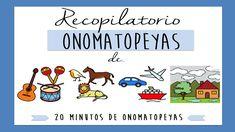 Sonidos de onomatopeyas para niños - Ejercicios discriminación auditiva