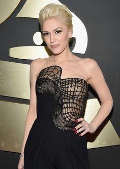 Grammy 2015 Gwen Stefani veste Atelier Versace @ Getty