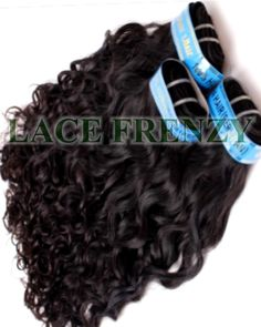 Grade 7A Virgin Hair -Italian Curly -Layered Machine Weft Bundle Kit  Length starts at 8 inches -28 inches  @lacefrenzywigs