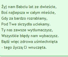 zyczenia urodzinowe dla Babci Learn Polish, Grandma And Grandpa, Printable Paper, Grandparents, Wish, Diy And Crafts, Bullet Journal, Humor, Education