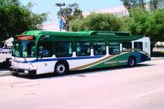 """Torrance has a fleet of """"green"""" buses."""