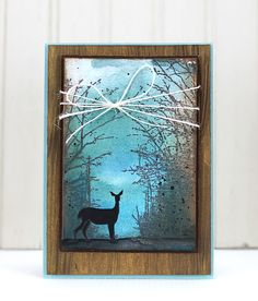 VIDEO TUTORIAL: Paint and stamp a winter scene using Penny Black's newest collection, Winter Wonderland Penny Black Cards, Penny Black Stamps, Christmas Cards To Make, Xmas Cards, Handmade Card Making, Handmade Cards, Masculine Birthday Cards, Watercolor Cards, Watercolor Video