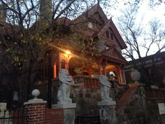 The Molly Brown house in Denver, CO