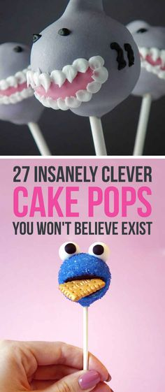 27 Insanely Clever Cake Pops You Won't Believe Exist