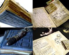 River Song Custom Replica Prop Diary FULLY ILLUSTRATED in Collectables, Science Fiction, Doctor Who | eBay